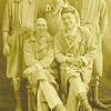 14.    After spending the winter of 1918-19 in some hospital in France, and then the spring at Camp Funstan, Kansas, Walter was released from active duty on April 30, 1919. Thankfully his letters have survived, to be passed down from one generation to the next.  That's Walter standing at the right rear.  Too bad we can't identify the others, whose families would probably love to see their relatives in this great photo.