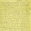 10. [NOTE – SOMETIME BEFORE THIS ABOVE LETTER, WALTER WAS WOUNDED AND GASSED, PROBABLY IN OCTOBER OF 1918. THE WAR STOPPED ON NOVEMBER 11TH.  HE ENDED UP IN A HOSPITAL IN FRANCE TO RECOVER. NOW HE PENS THIS LETTER ALMOST TWO MONTHS SINCE THE WAR ENDED.]<br /> Jan. 7 1919<br /> My dear sister. Will try and drop you a few lines to let you know how I am and what I am doing. Well I am still in a hositital but not bad off. I have a cut hand and trouble with my jaws & have not had my mouth wide open in over a month but I am able to be up and eat all I can get, so don't worry about me for I will be all ok some day I hope. I wish I could here from you people but I can't for I have been moving around so much I have no regular address and my mail is here some where but I have  not been able to get it yet. So there is no use to rite to me until I tell you to for I would not get it.  well they are sinding home lots of boys but they are mostly caslatys in class B, C and d. I don't know what class I am in but I believe I will be in B. If so I may be home soon but you can't tell. They have so many different idies about a fellow. Any how I will be home some day if nothing happens.
