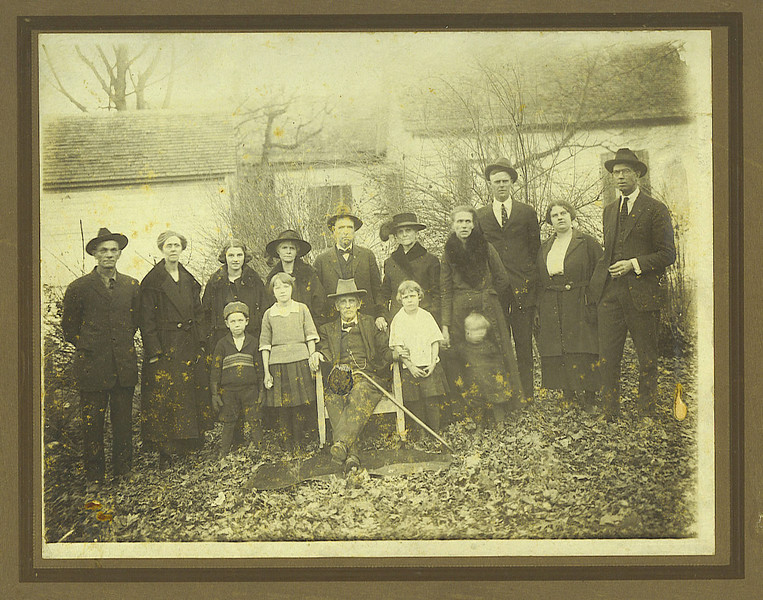 1. A treasured family photo taken about 1923. My mother, grandmother and great-grandmother are in here.