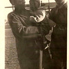 Maelois Stewart, James E. Stewart Jr. and a Marine friend.  Montford Point Camp.
