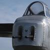 A B-25's tail.