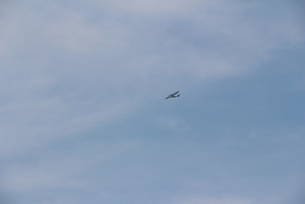 WWII VE Day 70th anniversary flyover
