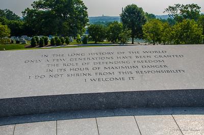 JFK grave site