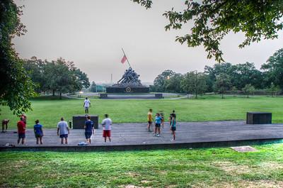 2012/08/04 Marine Corps War Memorial
