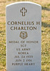Citation:<br /> <br /> Sgt. Charlton, a member of Company C, distinguished himself by conspicuous gallantry and intrepidity above and beyond the call of duty in action against the enemy. His platoon was attacking heavily defended hostile positions on commanding ground when the leader was wounded and evacuated. Sgt. Charlton assumed command, rallied the men, and spearheaded the assault against the hill. Personally eliminating 2 hostile positions and killing 6 of the enemy with his rifle fire and grenades, he continued up the slope until the unit suffered heavy casualties and became pinned down. Regrouping the men he led them forward only to be again hurled back by a shower of grenades. Despite a severe chest wound, Sgt. Charlton refused medical attention and led a third daring charge which carried to the crest of the ridge. Observing that the remaining emplacement which had retarded the advance was situated on the reverse slope, he charged it alone, was again hit by a grenade but raked the position with a devastating fire which eliminated it and routed the defenders. The wounds received during his daring exploits resulted in his death but his indomitable courage, superb leadership, and gallant self-sacrifice reflect the highest credit upon himself the infantry, and the military service.