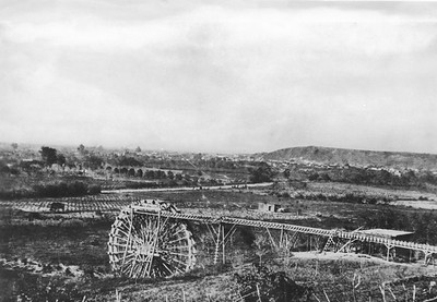 1870, Water Wheel near Elysian Park