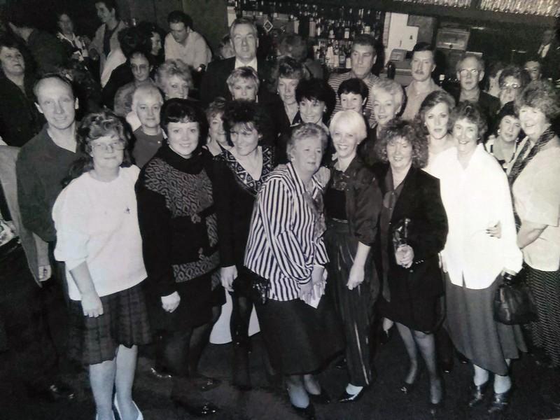 Whitewell Bottom School reunion Mason's Arms 19950107