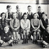 Lumb School 1952 Back barry Trevor Bryan John Middle Dorothy Jaqueline Mary Contance Sheila Front Peter Graham