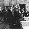 Water Nabb Colliery J Hindle J Lord F Rushden D Cropper J Nuttall M Pickup R Broxton B Corless S Fletcher G Cutting mid 1940s