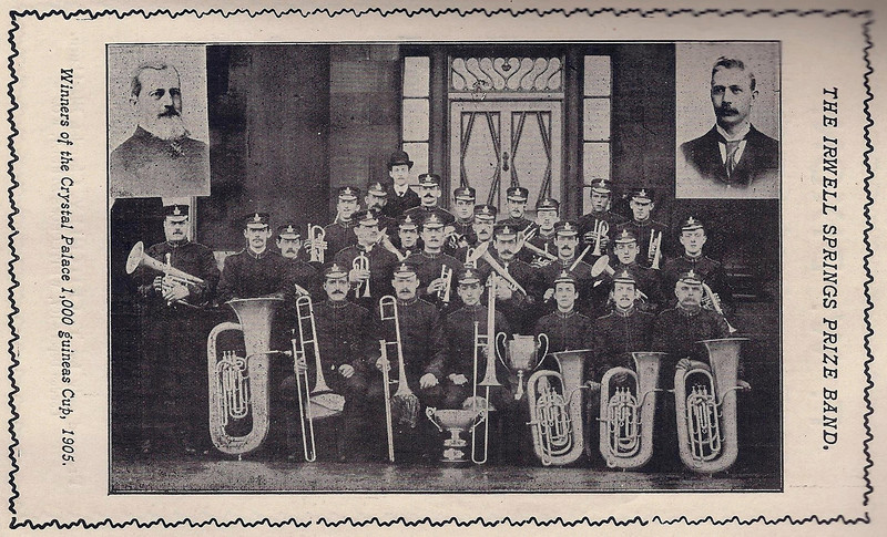 Irwell Springs Prize Band 1905