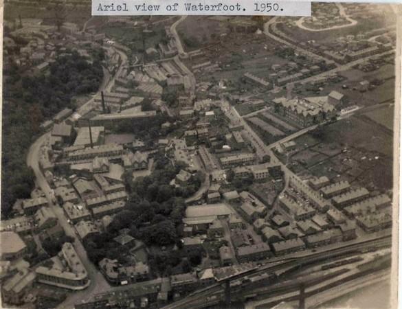 Waterfoot Aerial view 1950 jd