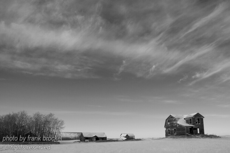 The Torwalt farm house near Jansen, Saskatchewan