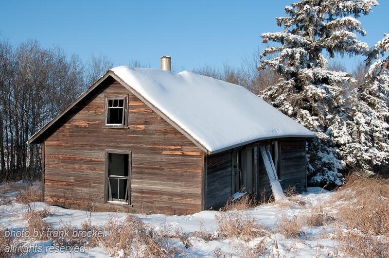 Abandoned farmstead in Alberta, Canada