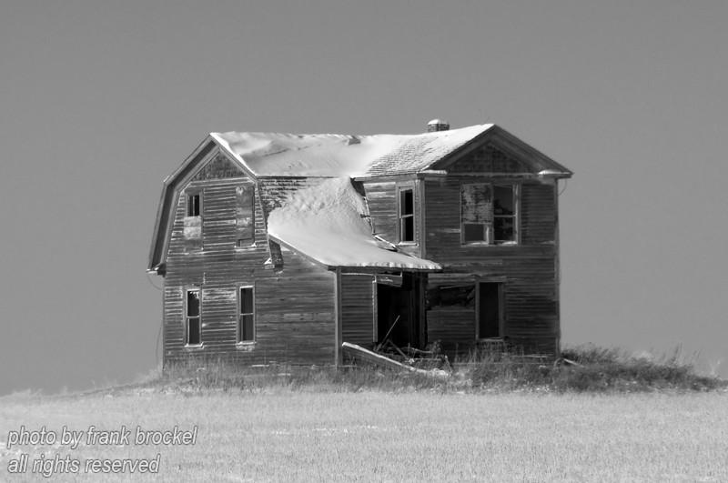 The Torwalt farm house near Jansen, Saskatchewan