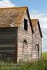 An old shed on the Torwalt farm near Jansen, Saskatchewan