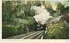 1840's Albany & West Stockbridge railroad's bore of State Line Tunnel  pre 1911