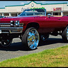 June 2013 . 32 inch rims -  supposedly as posted on FB by owner, first car on 32's in the State of MD