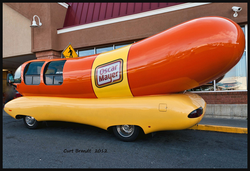 OSCAR MAYER WEINERMOBILE<br /> EASTON, MD<br /> ACME GROCERY <br /> MARCH 3, 2012