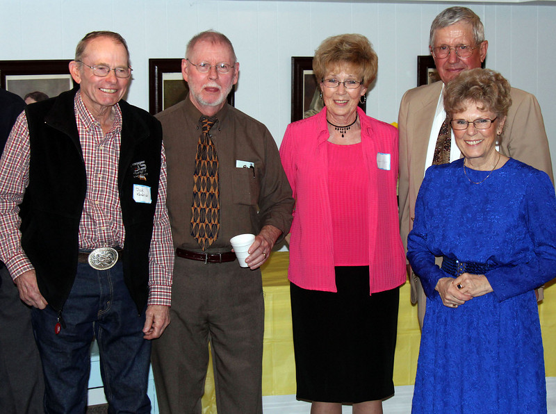 Dick Kendrick, Mike Cartwright, Sharon Mizner, Bob Galey and Dorine Daniels - 25 Mar 2012