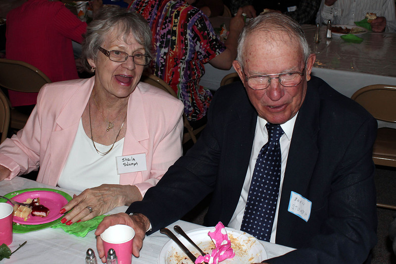 Sheila and John Stumph - 25 Mar 2012