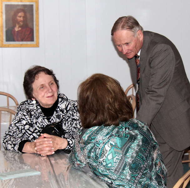 Bishop Ann and her husband Wayne in conversation with Kerry Johnson - 25 Mar 2012