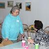 Ann Robertson visits with Bishop Ann - 25 Mar 2012