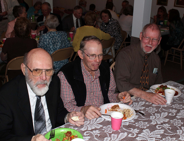 Budge Cripps, Dick Kendrick, and Michael Cartwright - 25 Mar 2012