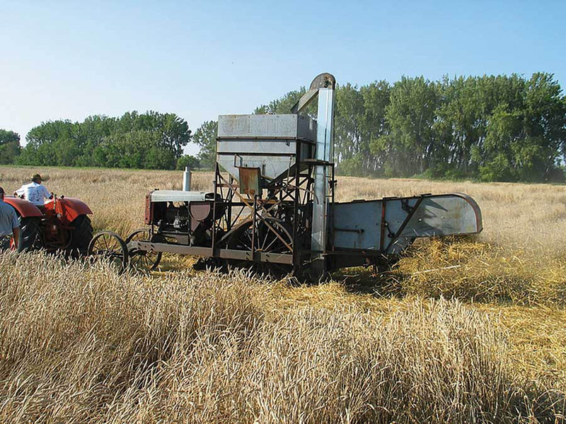 """The """"Curtis"""" combine - Manufactured in 1930"""