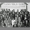 "Thanks to Mary Daniels of Whitney for providing us with this undated congregation photo from the Assembly of God Church.  We remember the structure facing north -- nearly across the street from Warring Memorial Church.  We'd sure like to put names with most of these folks.  By clicking on the image and selecting a larger size, you can get a pretty good look at each person in the photograph.  If you can identify anyone, please send us an <a href=""mailto: galeymedia@gmail.com""><b><i>e-mail</i></b></a>.  We've already spotted Mary at the right end of the second row from the top.  Many thanks!"