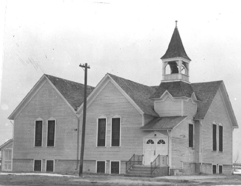 "Warring Memorial Church.  This is pretty much the way it looks today.  At one time, the main entry was from the east.  Here, it has been moved to the south side, where it remains today.  To see photos of the 125th Anniversary Celebration of the church, see our <a href=""http://www.photographs.galeymiller.org/History/Warring-Memorial-UMC-125th/22127186_wtF2qc#!i=1766543788&k=68L4HPC""><b><i>Warring UMC Gallery</i></b></a>."