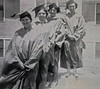The lady graduates of 1935.