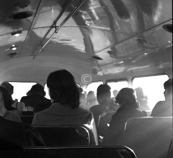 Another bus, another film needing finished. When smoking on the top deck was permitted, if not compulsory.