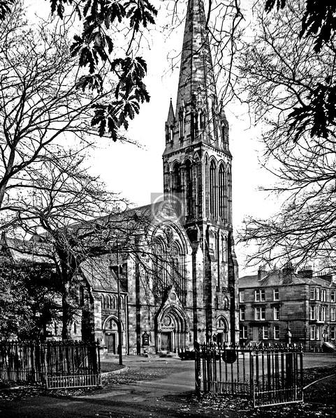 Balvicar Dr., Camphill Queen's Park Church.  March 1976