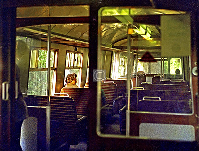 On a Blue Train.    August 1975