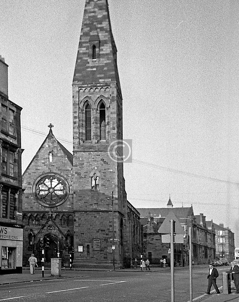 Candlish Memorial Church (J.Honeyman, 1875), corner of Cathcart Rd and Calder St, demolished in 1997.