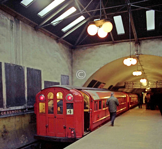 Cessnock subway station.  March 1977