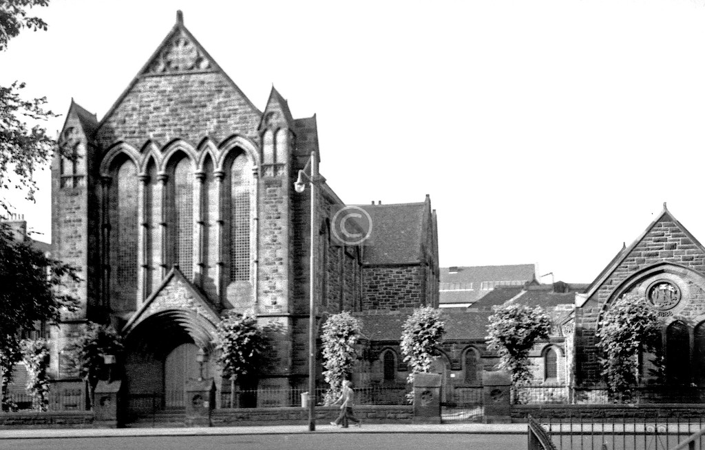 Queen's Dr., 7th Day Adventist Church  July 1975