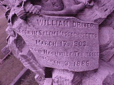William Driver Grave 3