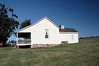 """Ray House, side view.<br /> <br /> You're not imagining things.  All parts of the house are not """"in true"""" relative to each other.<br /> <br /> Wilson's Creek National Battlefield Park,<br /> Republic, Missouri (SW of Springfield)"""