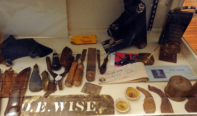 """Some of the items common in the late 1880's are on display in the museum.<br /> The Wise Homestead Museum in Erie is hosting a """"Homestead Christmas"""", on Saturday, December 15th, 2012.<br />  For a video and more photos of the homestead, go to  <a href=""""http://www.dailycamera.com"""">http://www.dailycamera.com</a>.<br /> Cliff Grassmick  / December 7, 2012"""
