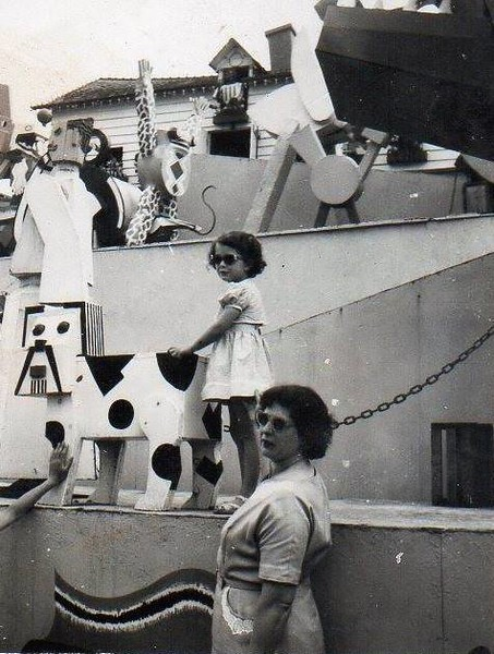 Shelia Freda Hewitt Blackpool  1950s