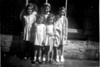 Irene Platt Maureen Fisher Barbara Kerr Jean Platt Judith Taylor abt 1951 1