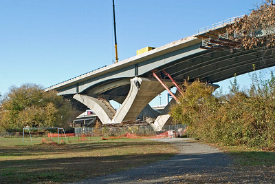 Woodrow Wilson Bridge Construction