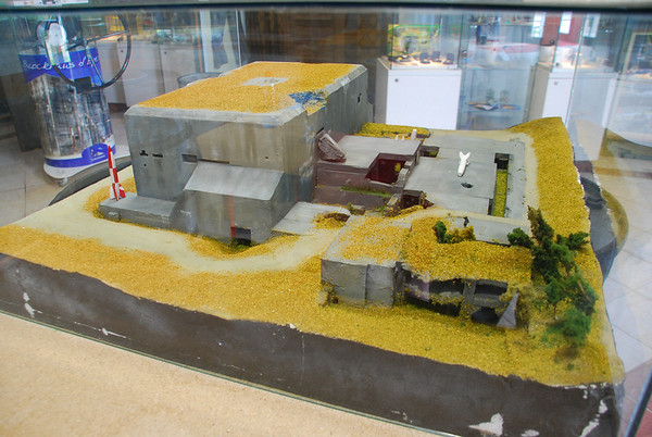 A very accurate model of the bunker