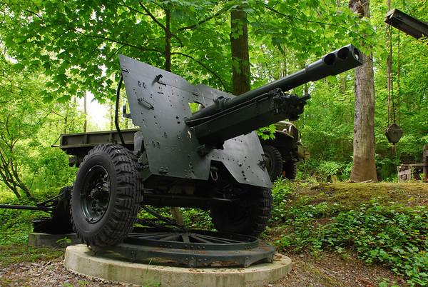 Big gun..105 mm Howitzer