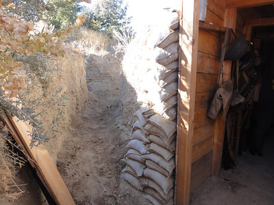 Another look at the U.S. Marines bunker.