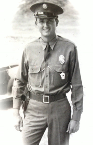 Here is Lt. Kenneth McClave, Jr. as an MP.  Note the whistle. No bars are visible, so it could be at a time before he had completed Officer Training.