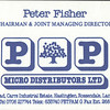 P & P Micro Distributors Todd hall Road Peter Fisher Chairman and Joint Managing Director