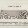 P & P Micro Distributors New Hall Hey Peter Fisher
