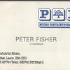 P & P Micro Distributors Carrs Industrial Estate Peter Fisher Chairman